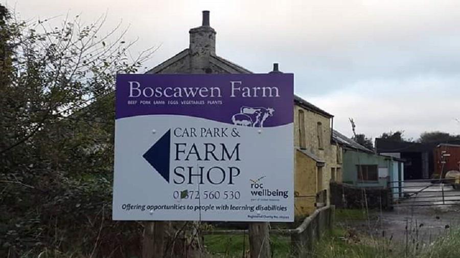 Boscawen Farm, Cornwall