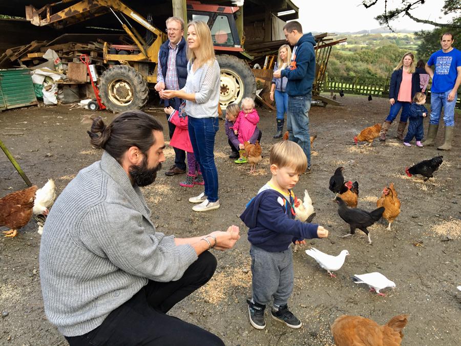 Rebecca Matthews and husband Brendan Sleeman enjoyed a blissful family break at Bosinver in Cornwall