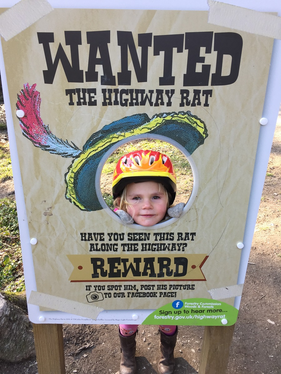 Highway Rat wanted poster