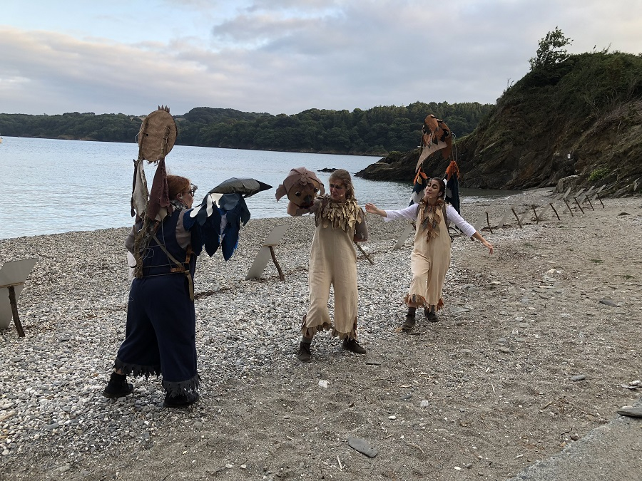 Cornwall has a range of immersive outdoor performances during the summer