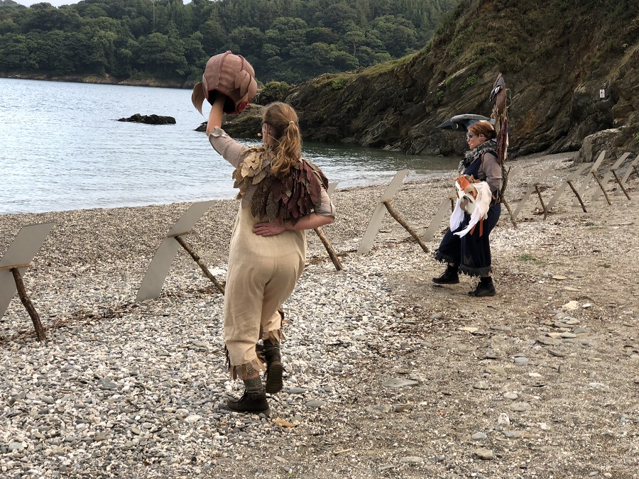 Scraww takes place in the magnificent surroundings of Trebah Garden