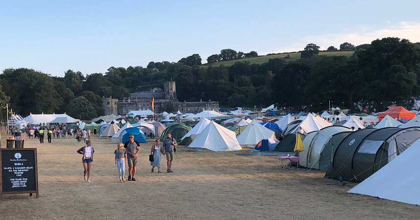 Port Eliot Festival view