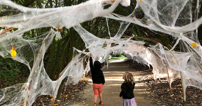 Children's Halloween trail at the Lost Gardens of Heligan