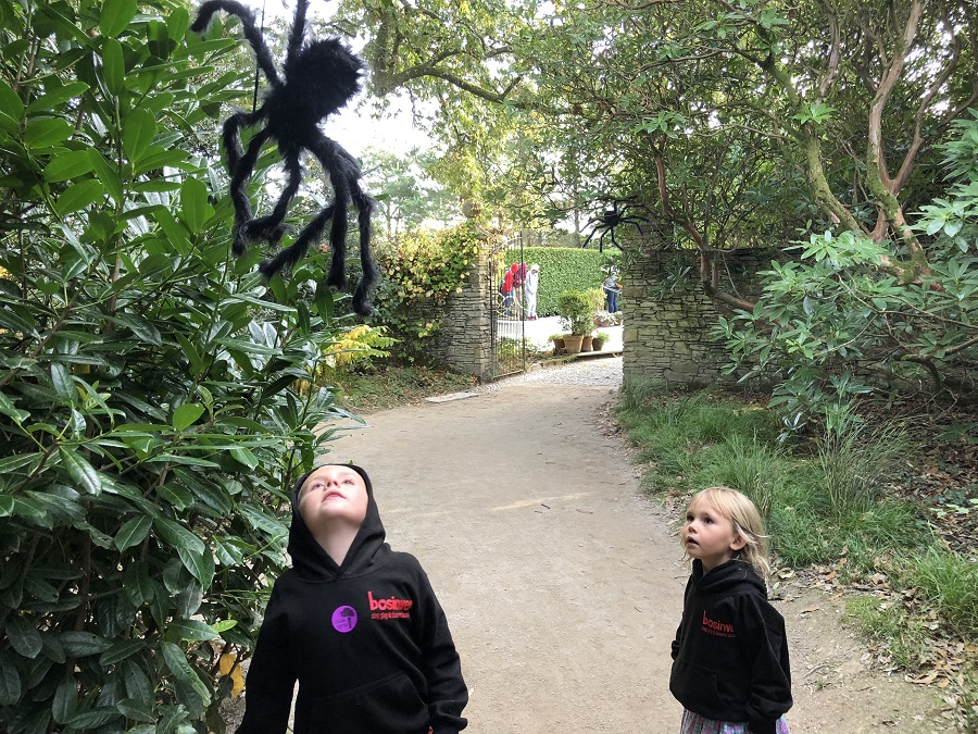 The Heligan Halloween trail is fun for kids of all ages