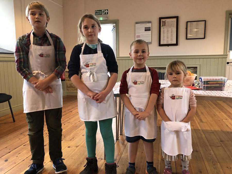 Children from 2-11 years old can learn cookery skills with Little Kitchen Magicians