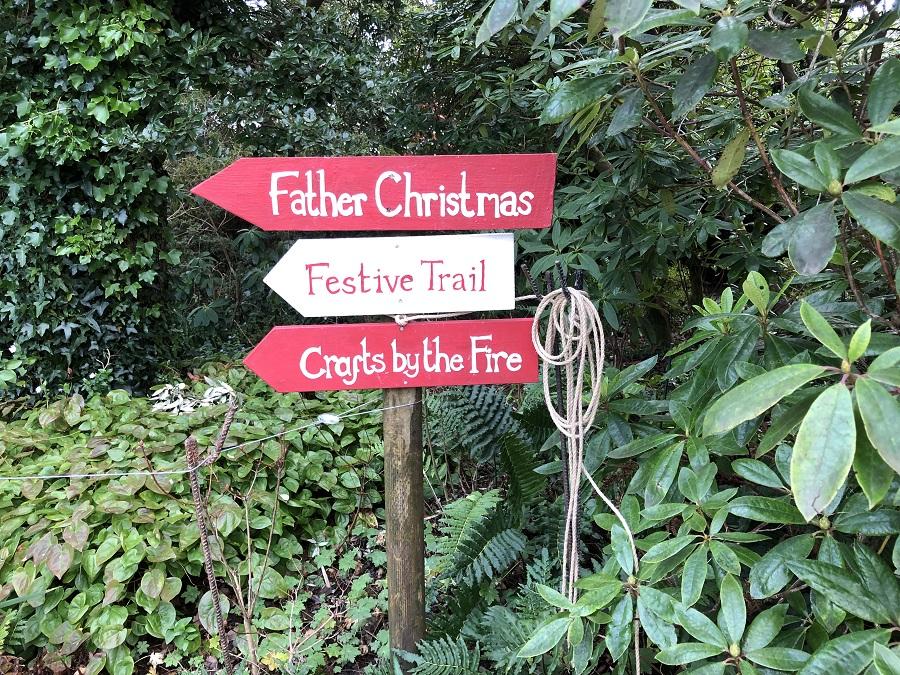 Heligan's children's Christmas trail