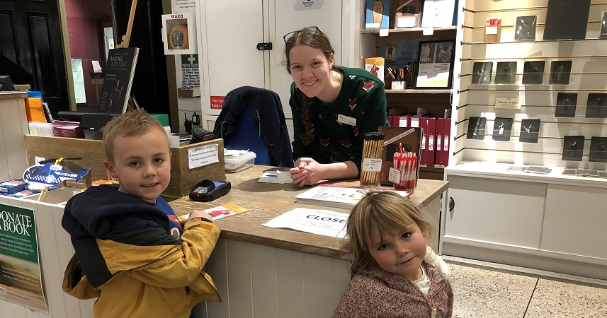 Exploring the the Royal Cornwall Museum with children