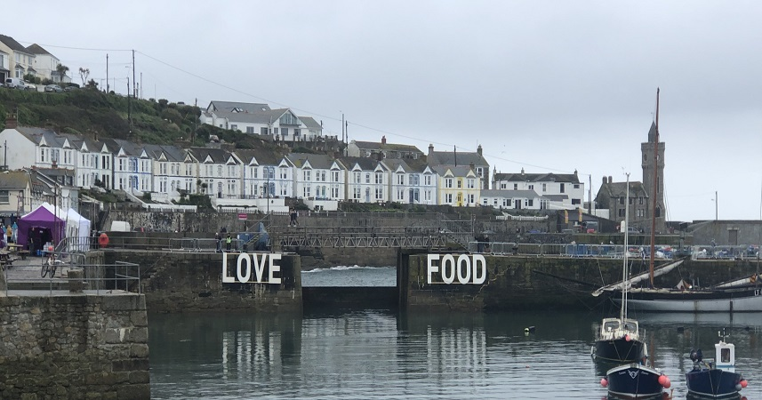 Porthleven Food Festival is a celebration of local food and drink
