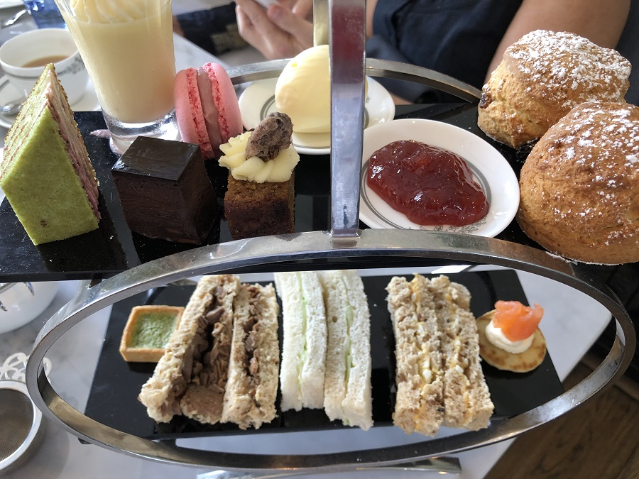 Afternoon Tea at the Laura Ashley Tea Room, The Cornwall Hotel