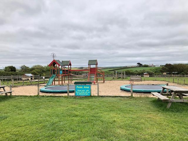 Play facilities at Old MacDonald's Farm Park