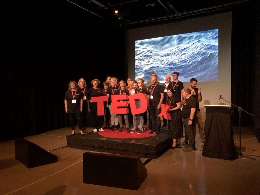 TED Talk finale