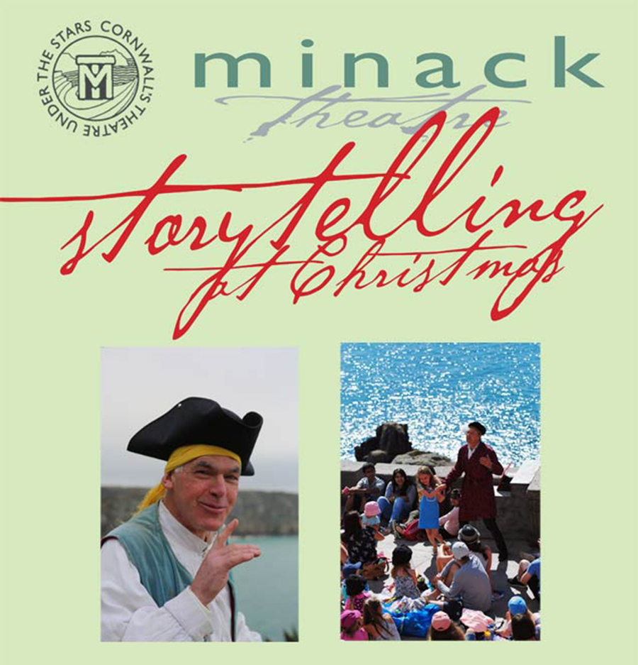 christmas storytelling at the Minack